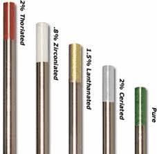Tungsten Electrodes - جوشکاری تنگستن